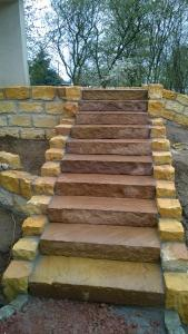 Treppe Frontansicht